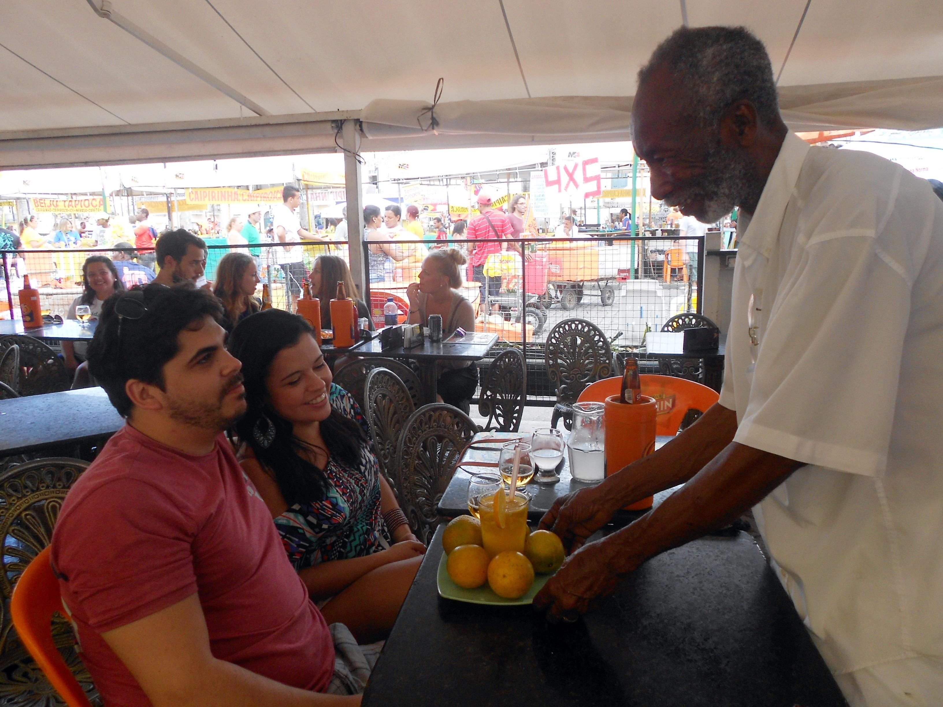 Clarindo Silva, proprietário da Cantina da Lua/Foto: Joseanne Guedes/ABI