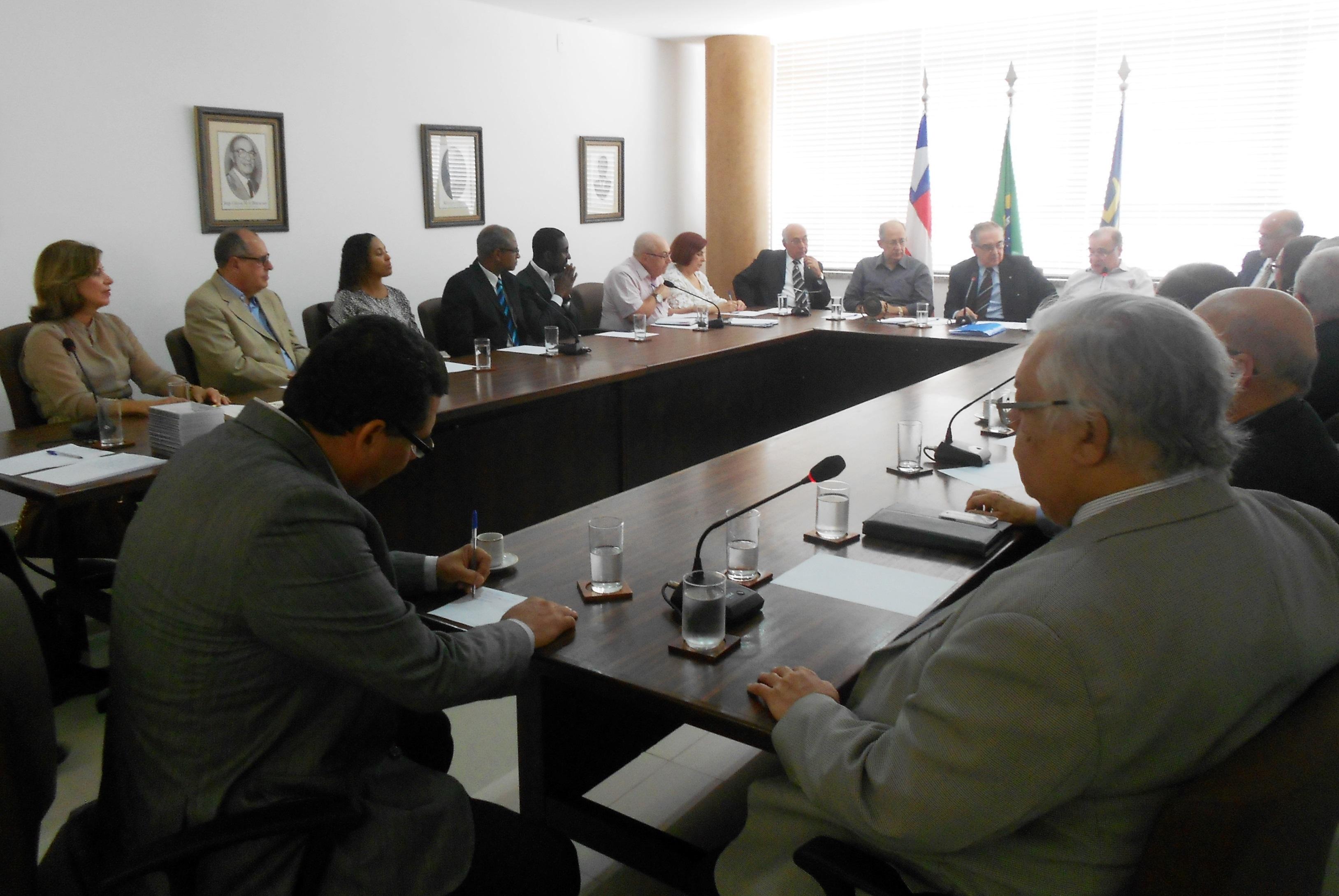 O encontro marcou o início do diálogo entre as entidades que vão homenagear  Jorge Calmon - Foto: Joseanne Guedes/ABI