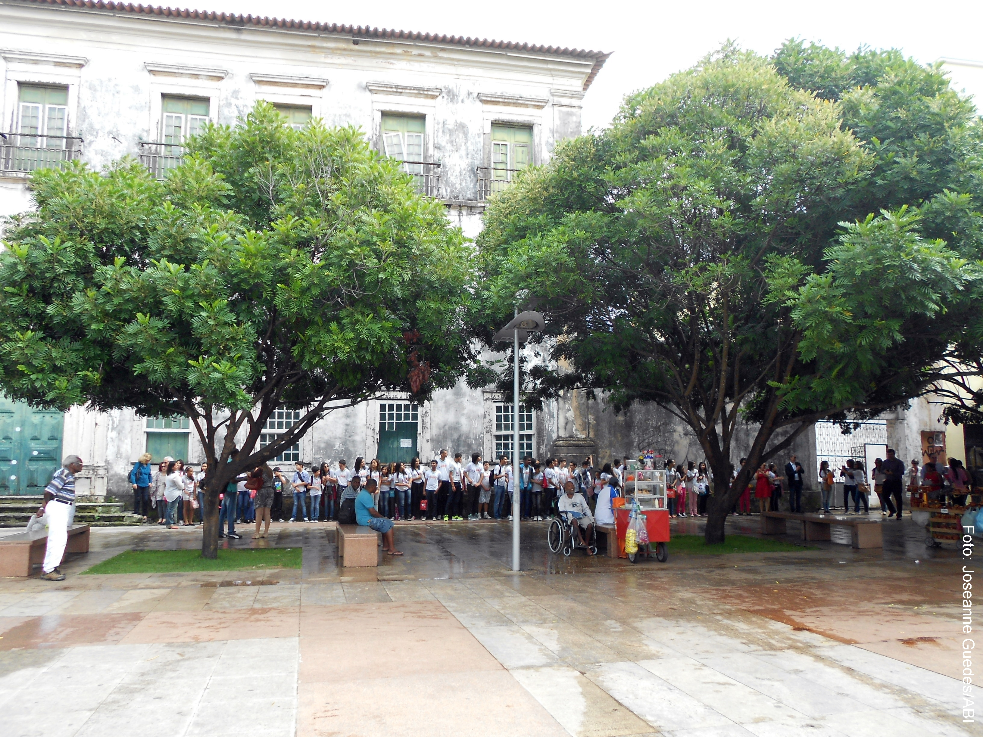 Abraçaço_Palácio Arquiepiscopal - Foto: Joseanne Guedes/ABI