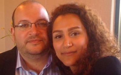 Yeganeh Salehi e seu marido Jason Rezaian, que permanece detido/ Foto: Reprodução