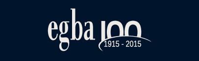 selo EGBA 100 anos