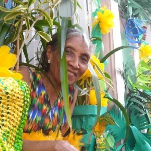Dona Maria, 77 anos, faz aniversário no Dia da Independência - Foto: Nea Santtana