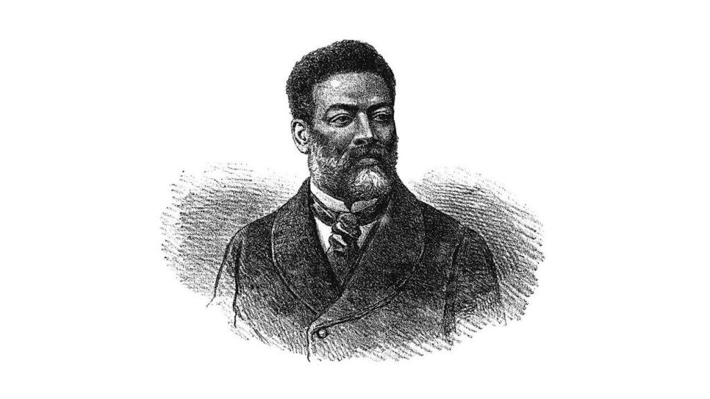 Retrato de Luiz Gama de Angelo Agostini
